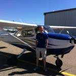 Bjorn Johnson Private pilot, 6/27/13